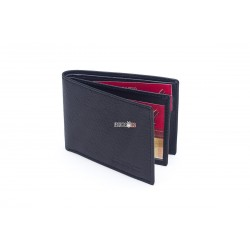 Cartera portaplaca horizontal monedero exterior