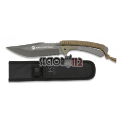 cuchillo encordado K25 coyote