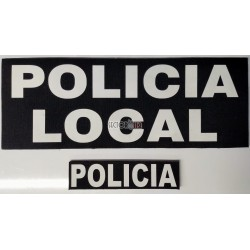 Parches leyendas policia local