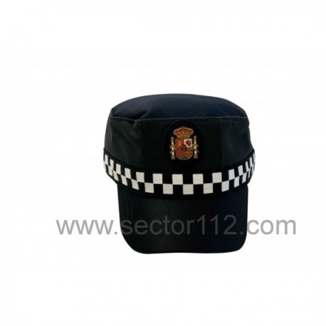 Gorra escala básica policía local entretiempo
