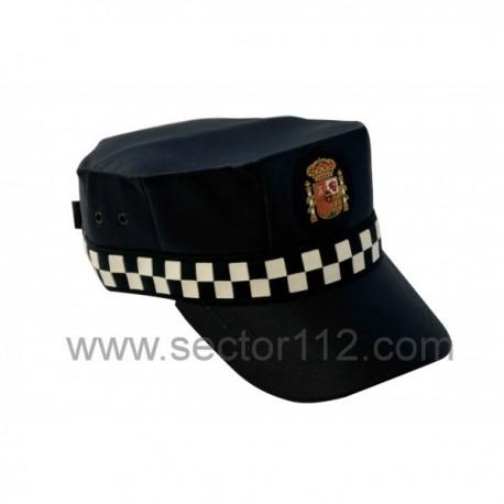 Gorra escala básica policía local invierno