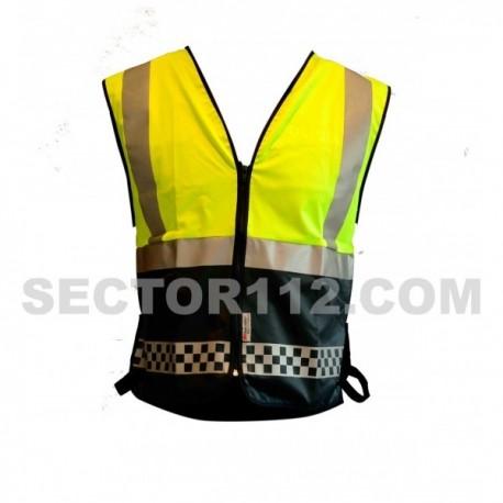 Chaleco reflectante reglamentario Policía local
