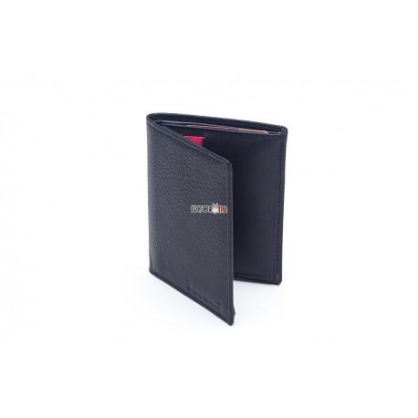 cartera portaplaca mod. 802 negro óvalo