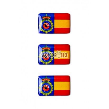 pegatinas siliconadas 3 uds CNP España