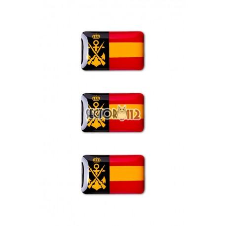 pegatinas siliconadas 3 uds Infanteria de marina España