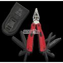 Alicate multiusos K25 rojo. 10 usos.