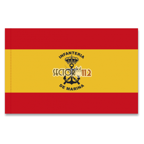 Bandera España infanteria de marina