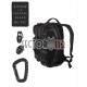 "mochila de combate SM ""tactical black"" (NUEVO)"