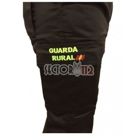 Uniforme Guarda Rural,Pantalón Guarda Rural con leyenda