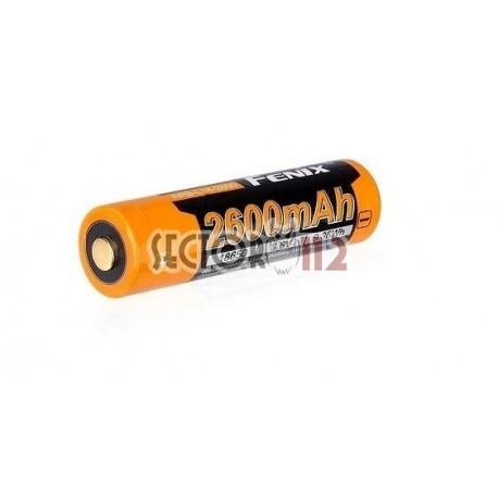 Batería 18650 Recargable Fénix 2600mAh