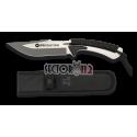 cuchillo encordado K25 black