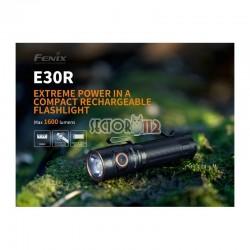 Linterna fénix E30R 1600 lúmenes