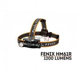 Frontal FÉNIX HM61R 1200 lúmenes (luz roja y blanca)