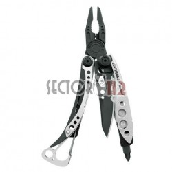 Leatherman skeletool negro y plata