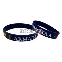 pulsera silicona armada española