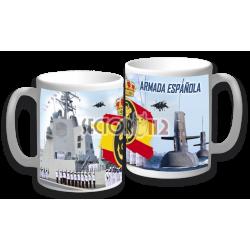Taza cerámica infantería de marina