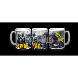 Taza cerámica swat