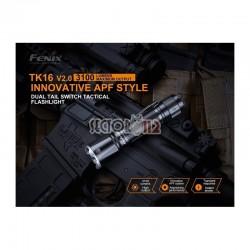 Linterna Fénix TK16-V2.0 3100 lúmenes (incluye batería recargable 21700)