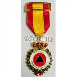 Medalla conmemorativa Covid-19 protección civil