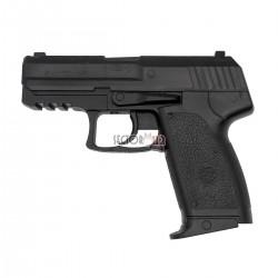 Pistola entrenamiento réplica HK USP Compact negra