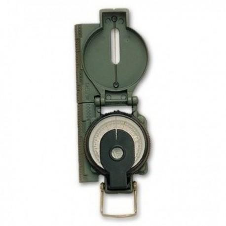 Brújula de metal militar