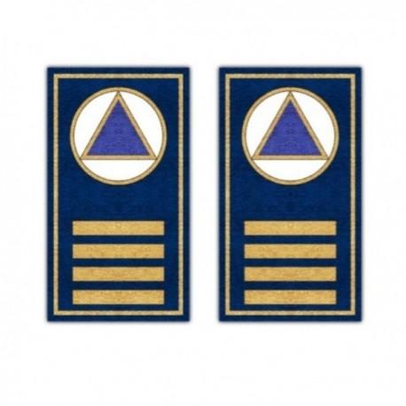 GALONERAS PROTECCIÓN CIVIL JEFE COORDINADOR (RESPONSABLE MUNICIPAL)